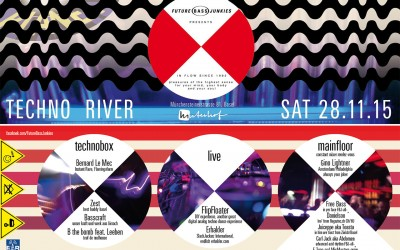 Nov 28 2015 | Techno River @ Hinterhof | Future Bass Junkies